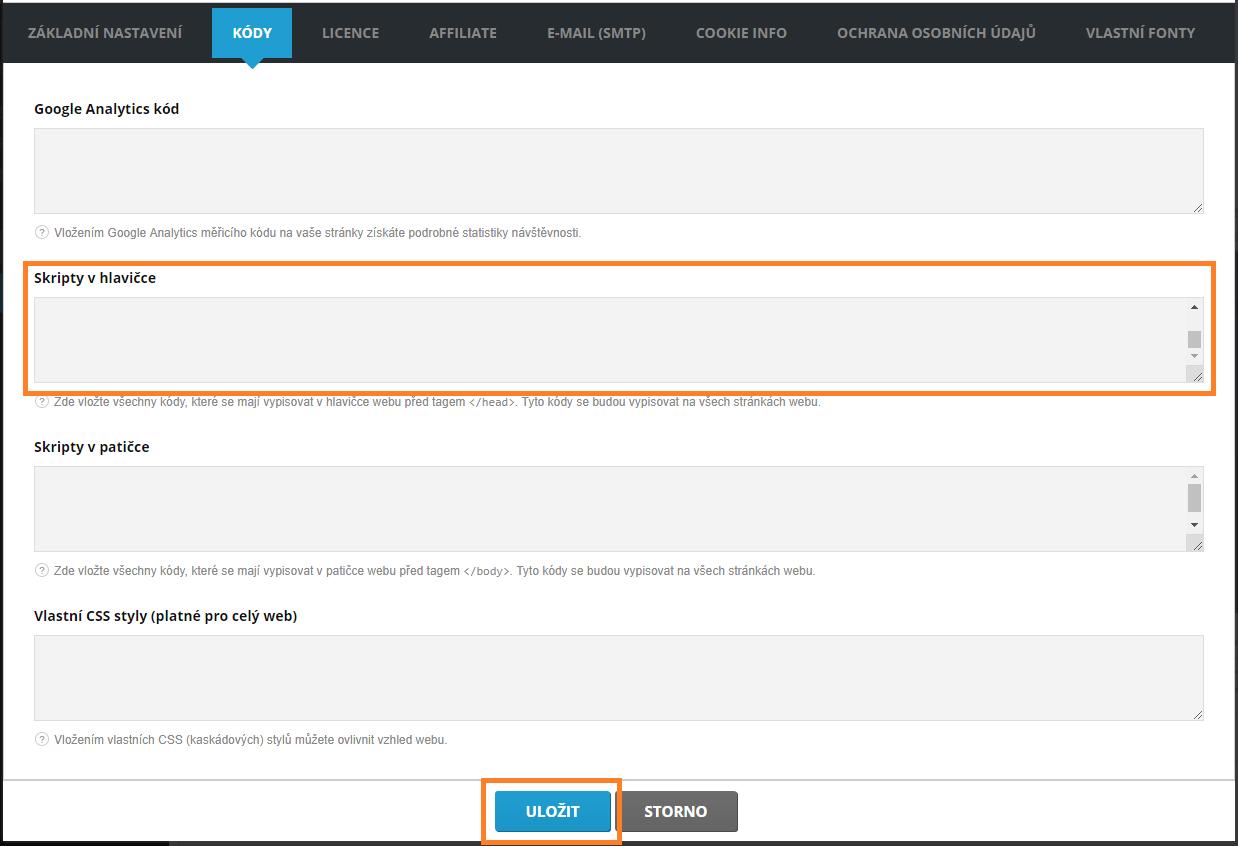 Propojení Mioweb